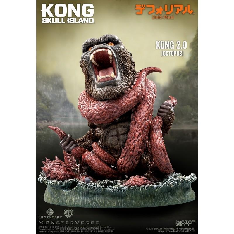 デフォリアル『コング 2.0』キングコング:髑髏島の巨神 完成品フィギュア-001
