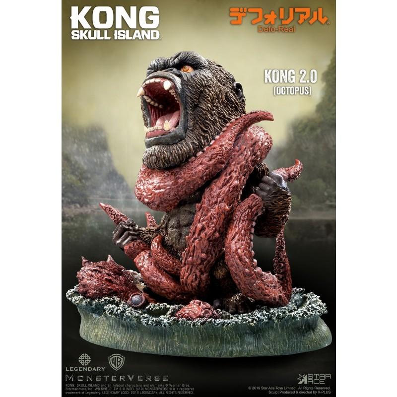 デフォリアル『コング 2.0』キングコング:髑髏島の巨神 完成品フィギュア-002