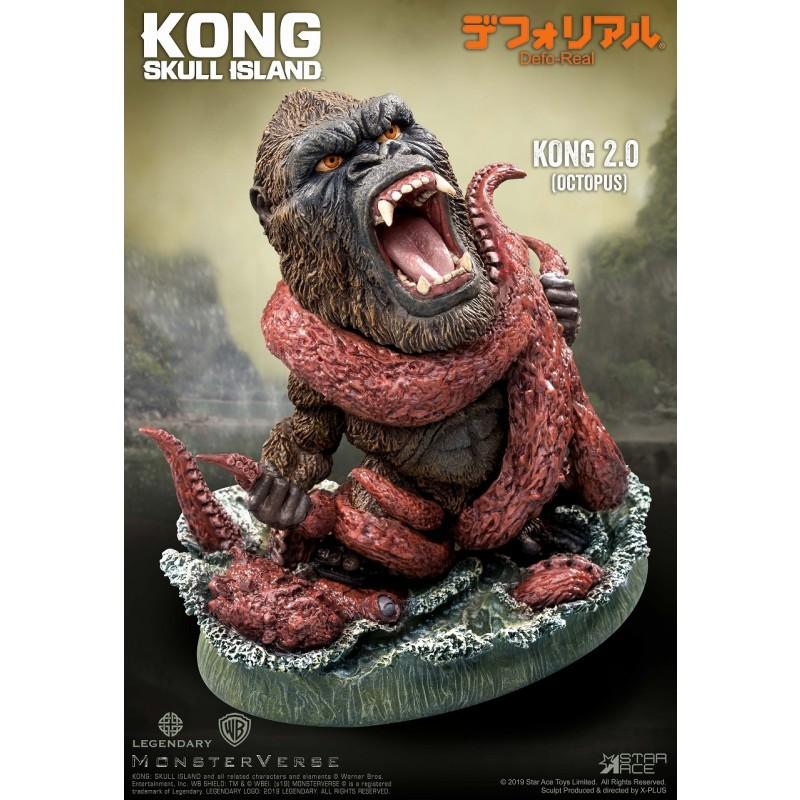 デフォリアル『コング 2.0』キングコング:髑髏島の巨神 完成品フィギュア-003