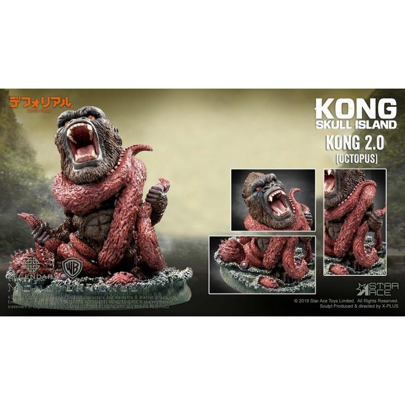 デフォリアル『コング 2.0』キングコング:髑髏島の巨神 完成品フィギュア-005