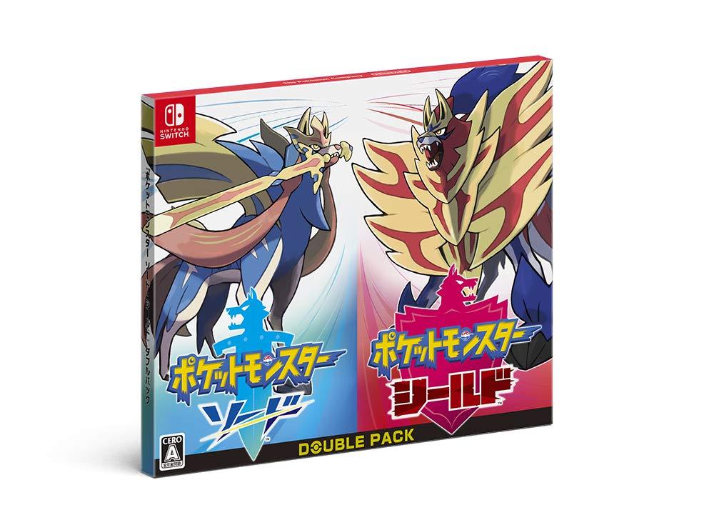 ニンテンドースイッチ『ポケットモンスター ソード・シールド[ダブルパック]』Nintendo Switch ゲーム-001