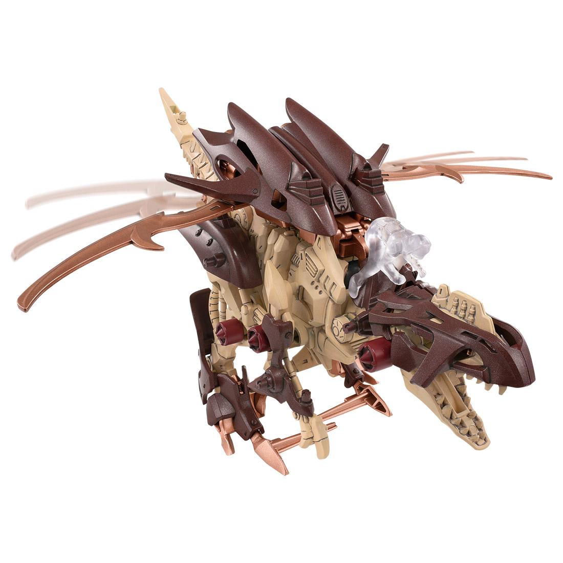 【恐竜博2019開催記念】ゾイドワイルド『ギルラプター レアボーンver.』組み立てキット-004