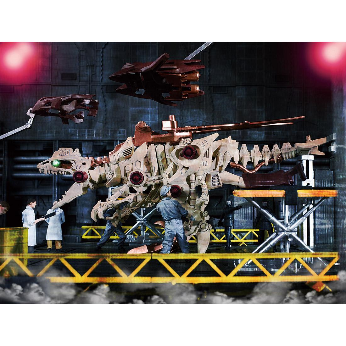 【恐竜博2019開催記念】ゾイドワイルド『ギルラプター レアボーンver.』組み立てキット-007