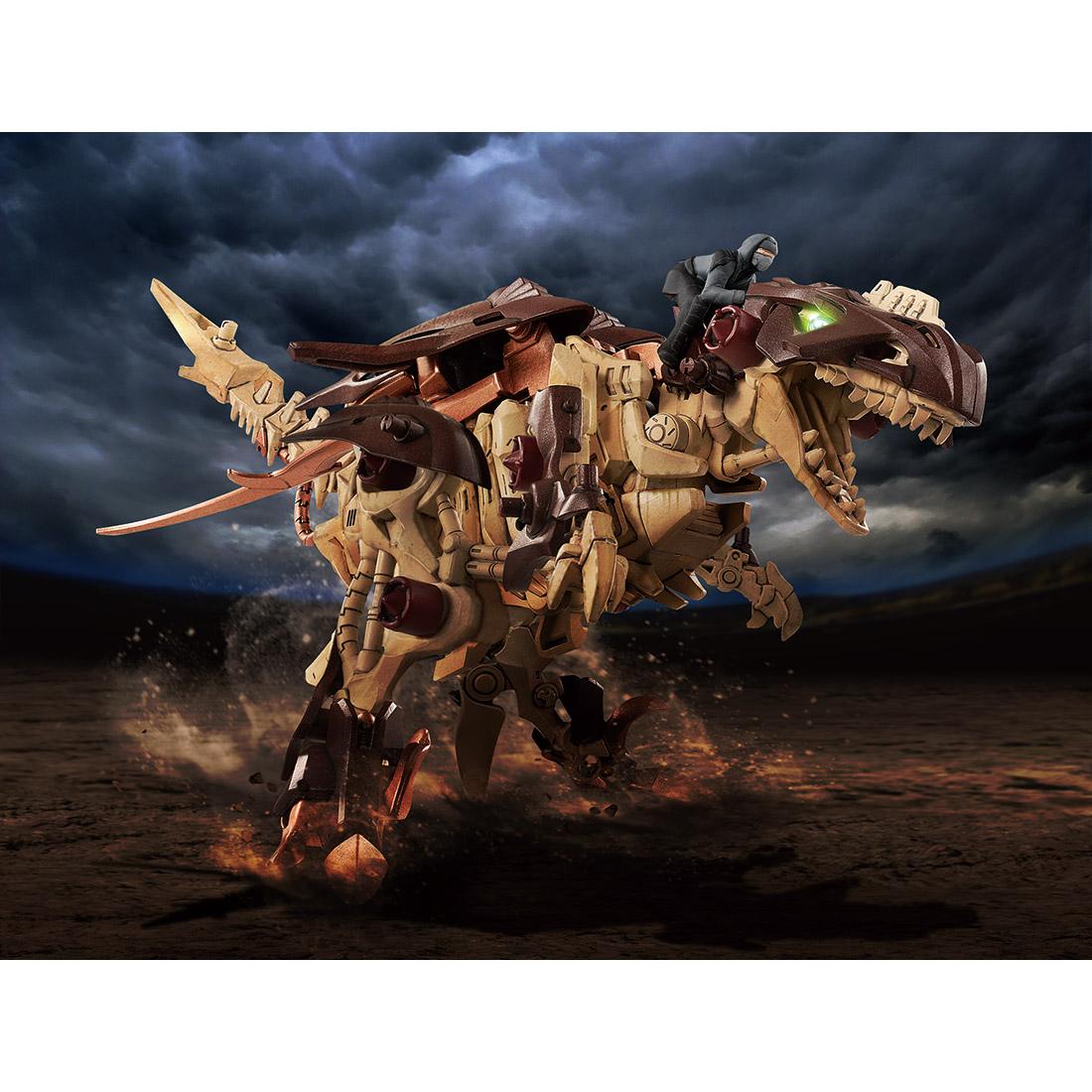 【恐竜博2019開催記念】ゾイドワイルド『ギルラプター レアボーンver.』組み立てキット-008