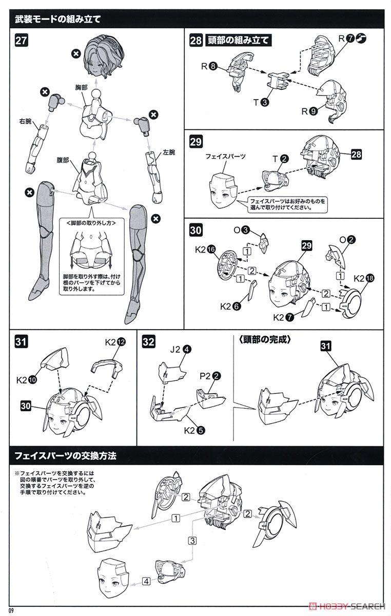 【再販】メガミデバイス『SOLロードランナー』1/1 プラモデル-034
