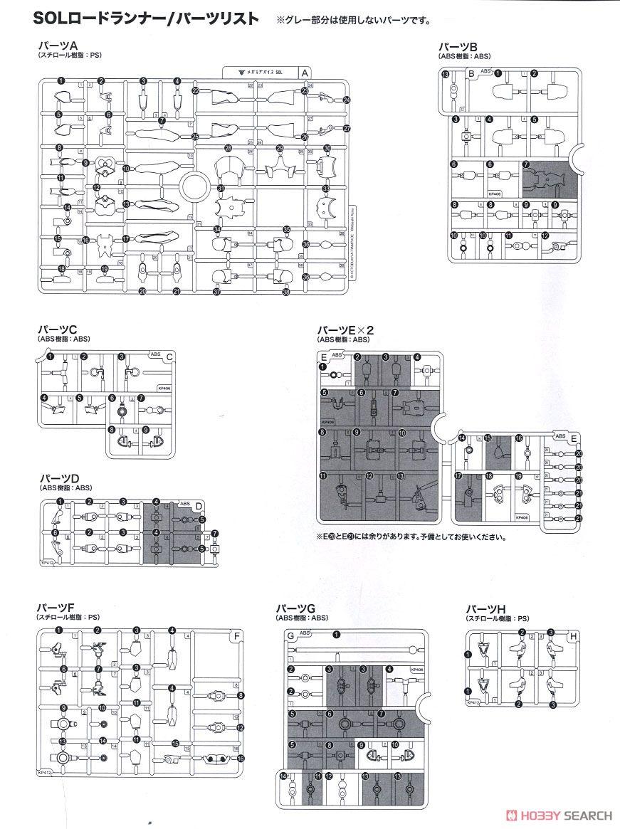 【再販】メガミデバイス『SOLロードランナー』1/1 プラモデル-042