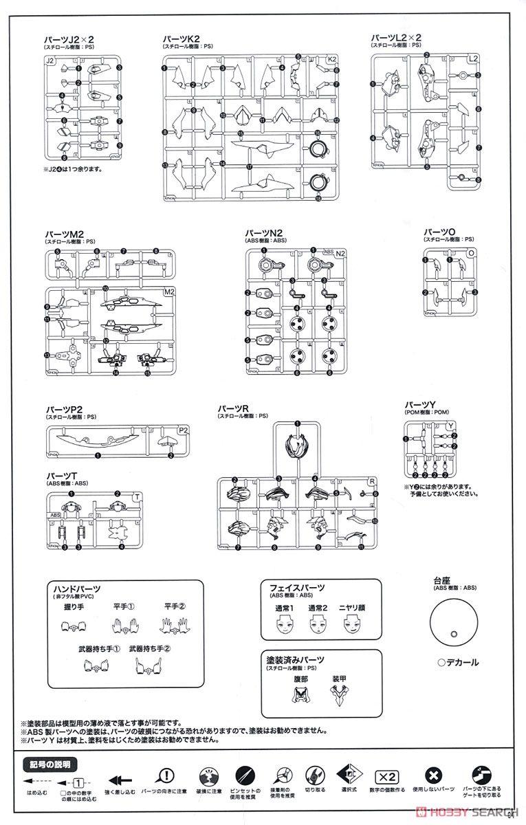 【再販】メガミデバイス『SOLロードランナー』1/1 プラモデル-043