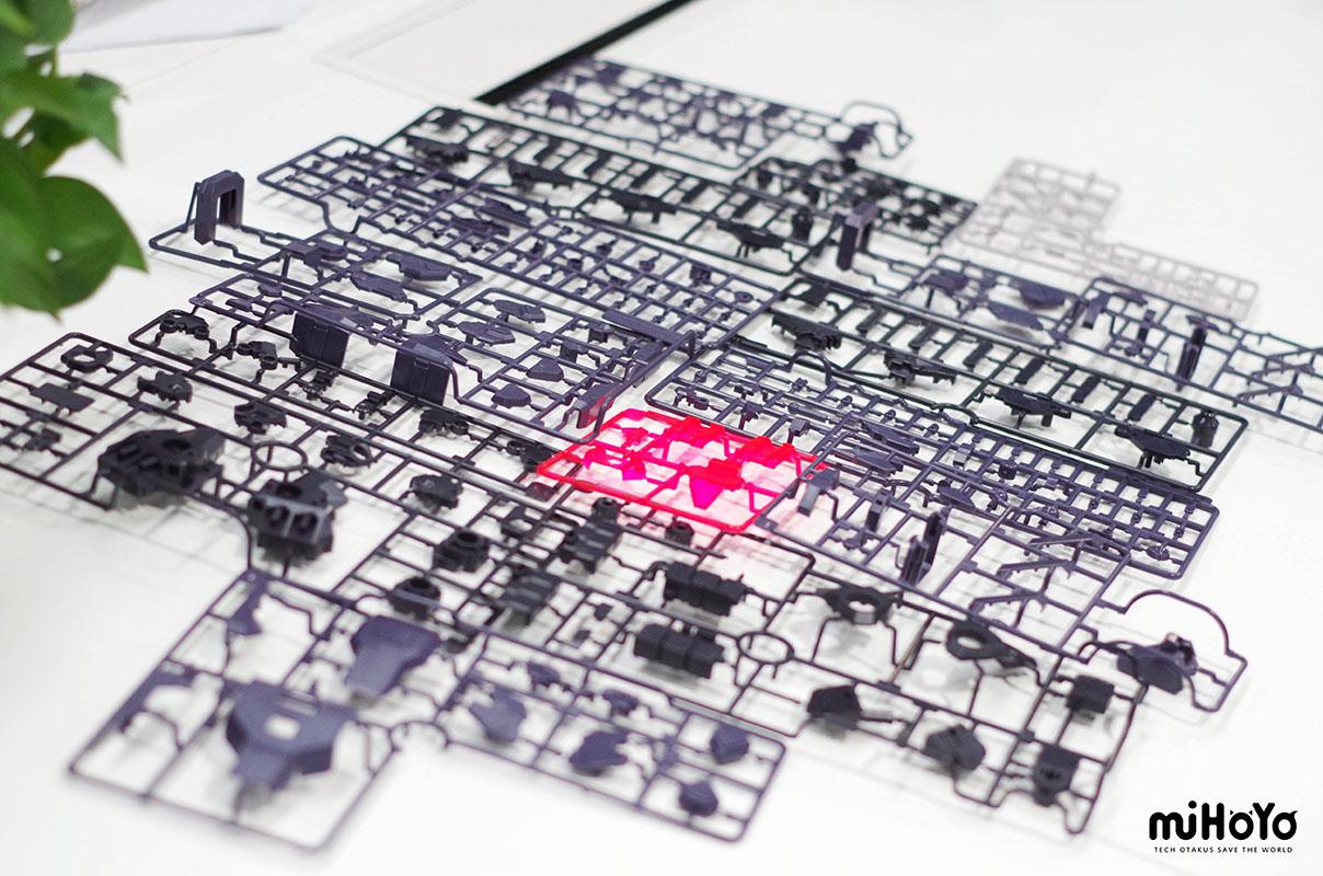 崩壊3rd『タイタン機甲』プラスチックモデルキット-013