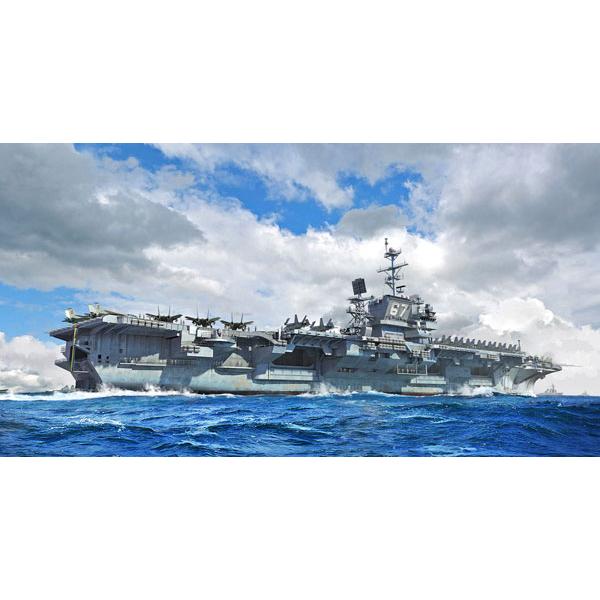 1/700『アメリカ海軍 空母 CV-67 ジョン・F・ケネディ』プラモデル