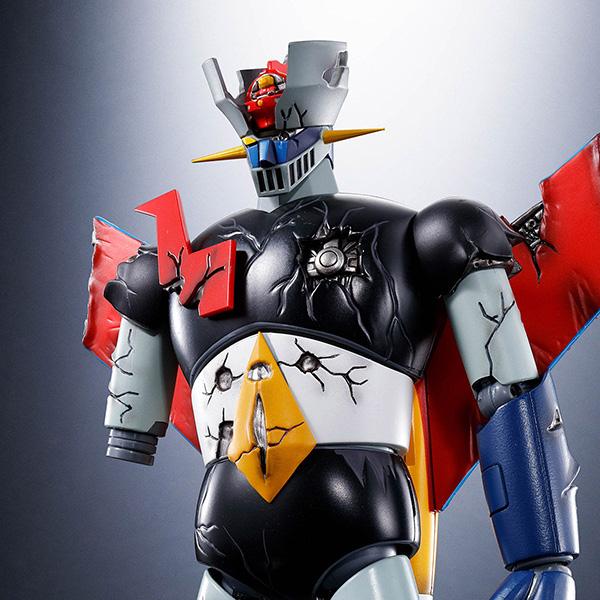 超合金魂 GX-70SPD『マジンガーZ D.C.ダメージver. アニメカラー』可動フィギュア