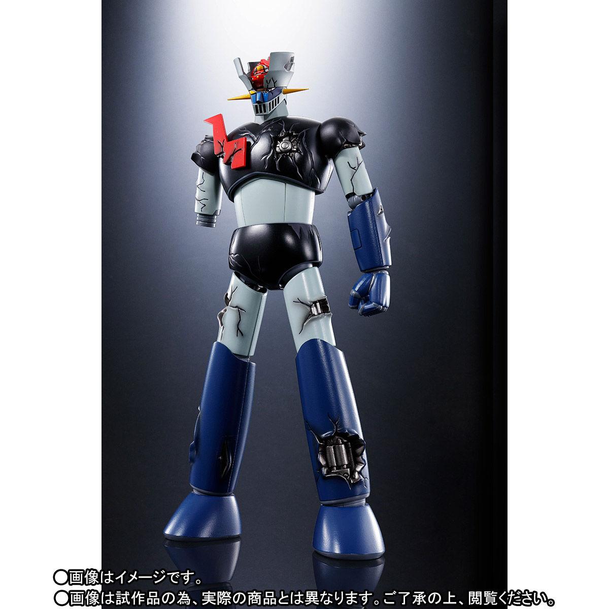 超合金魂 GX-70SPD『マジンガーZ D.C.ダメージver. アニメカラー』可動フィギュア-003