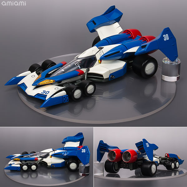【再販】ヴァリアブルアクション Hi-SPEC『スーパーアスラーダ01』新世紀GPXサイバーフォーミュラ 1/18 可動モデル