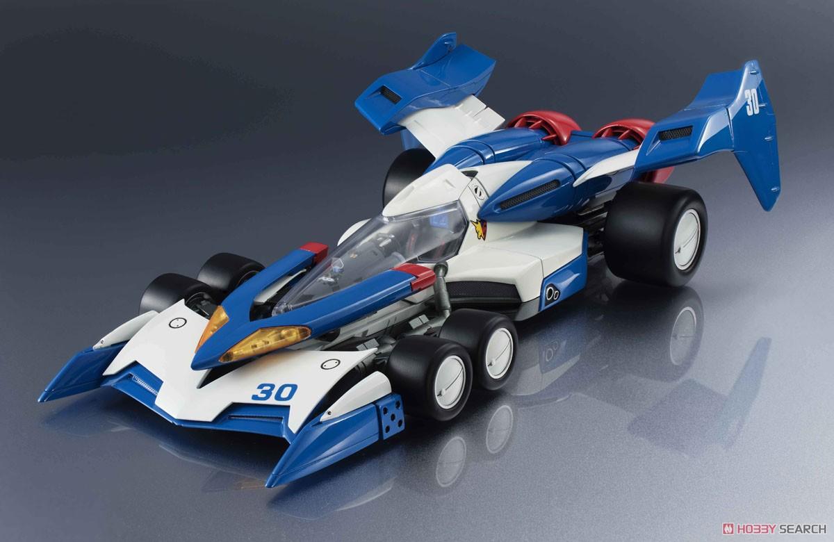 【再販】ヴァリアブルアクション Hi-SPEC『スーパーアスラーダ01』新世紀GPXサイバーフォーミュラ 1/18 可動モデル-001