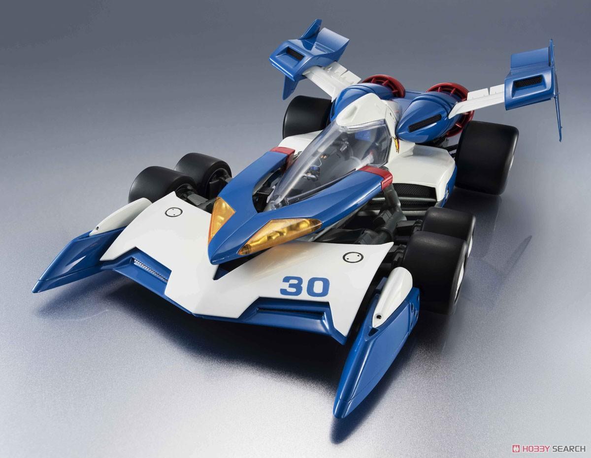 【再販】ヴァリアブルアクション Hi-SPEC『スーパーアスラーダ01』新世紀GPXサイバーフォーミュラ 1/18 可動モデル-002