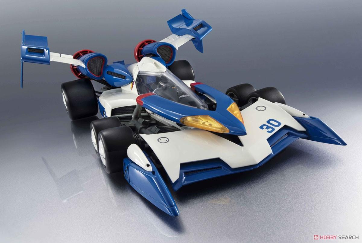 【再販】ヴァリアブルアクション Hi-SPEC『スーパーアスラーダ01』新世紀GPXサイバーフォーミュラ 1/18 可動モデル-003