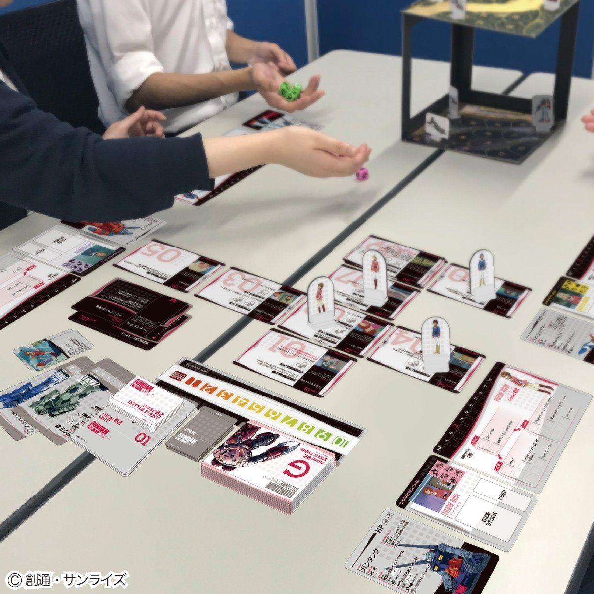 GUNDAM THE GAME『機動戦士ガンダム:哀・戦士編』ボードゲーム-005