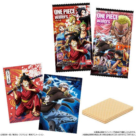 【食玩】ONE PIECE『ワンピースウエハース 侍の国』20個入りBOX-002