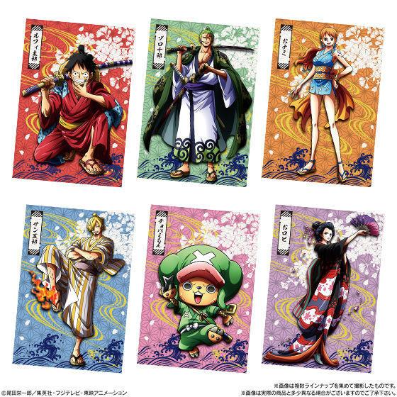 【食玩】ONE PIECE『ワンピースウエハース 侍の国』20個入りBOX-004