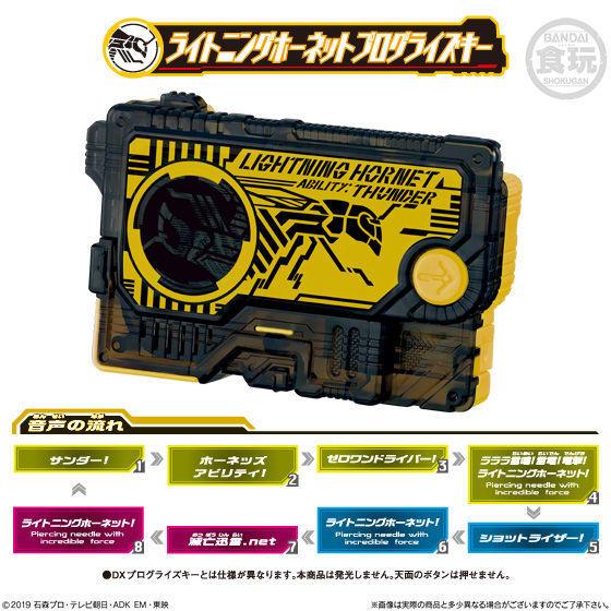 【食玩】サウンドプログライズキーシリーズ『SGプログライズキー04』仮面ライダーゼロワン 8個入りBOX-004