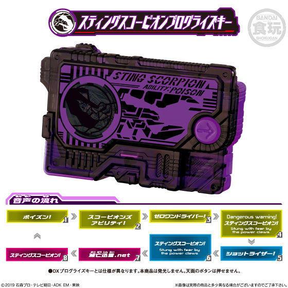 【食玩】サウンドプログライズキーシリーズ『SGプログライズキー04』仮面ライダーゼロワン 8個入りBOX-005