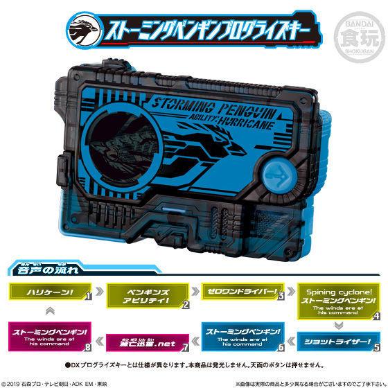 【食玩】サウンドプログライズキーシリーズ『SGプログライズキー04』仮面ライダーゼロワン 8個入りBOX-006