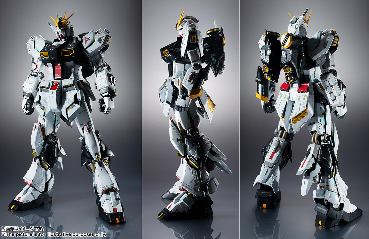 METAL STRUCTURE 解体匠機『RX-93 νガンダム』可動フィギュア-009