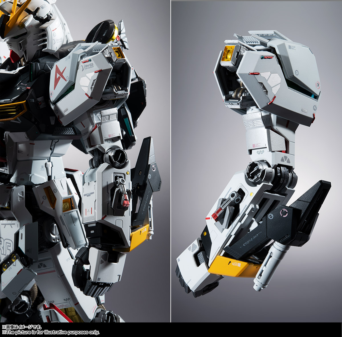METAL STRUCTURE 解体匠機『RX-93 νガンダム』可動フィギュア-014