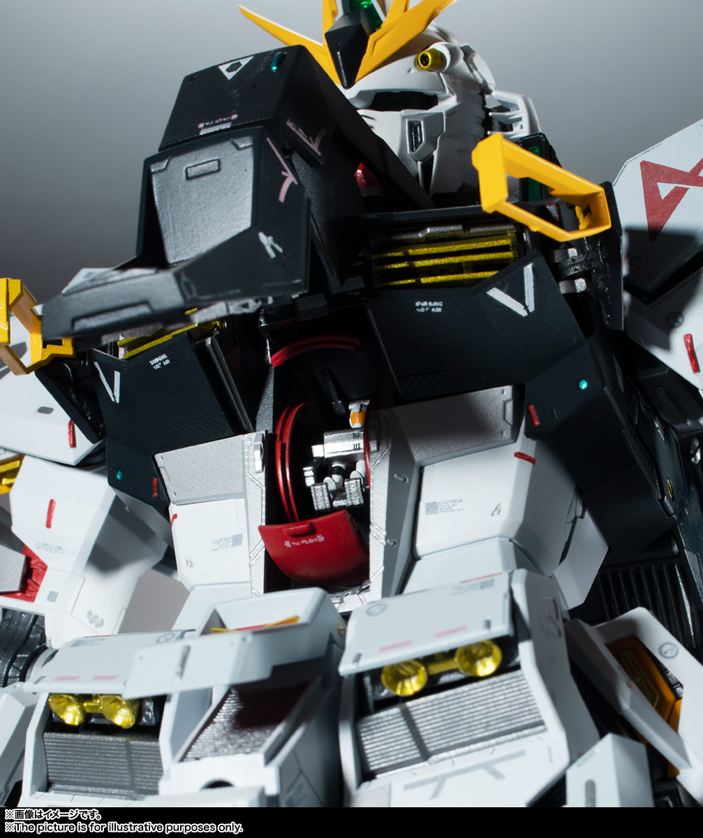 METAL STRUCTURE 解体匠機『RX-93 νガンダム』可動フィギュア-017