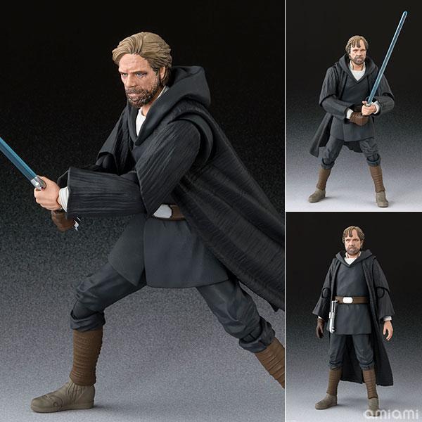 S.H.Figuarts『ルーク・スカイウォーカー -バトル・オブ・クレイト Ver.-(STAR WARS:The Last Jedi)』スター・ウォーズ 可動フィギュア