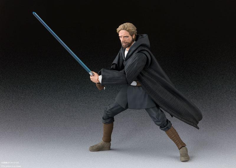 S.H.Figuarts『ルーク・スカイウォーカー -バトル・オブ・クレイト Ver.-(STAR WARS:The Last Jedi)』スター・ウォーズ 可動フィギュア-001