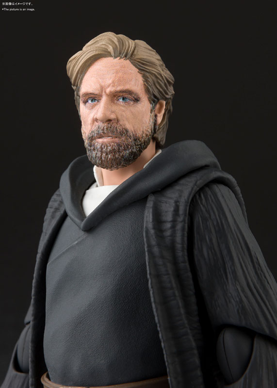S.H.Figuarts『ルーク・スカイウォーカー -バトル・オブ・クレイト Ver.-(STAR WARS:The Last Jedi)』スター・ウォーズ 可動フィギュア-005
