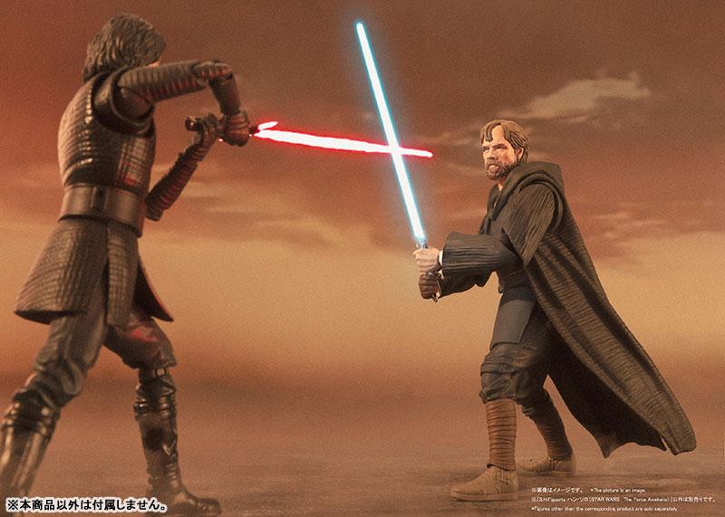 S.H.Figuarts『ルーク・スカイウォーカー -バトル・オブ・クレイト Ver.-(STAR WARS:The Last Jedi)』スター・ウォーズ 可動フィギュア-009