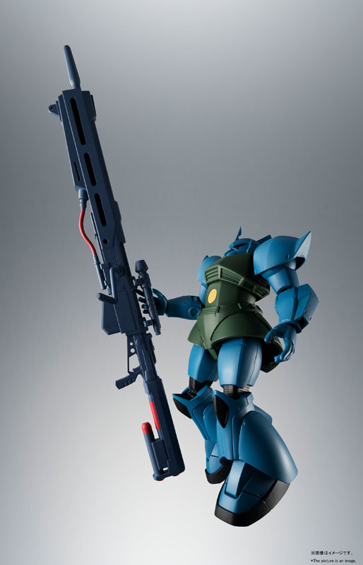 ROBOT魂〈SIDE MS〉『MS-14A ガトー専用ゲルググ ver. A.N.I.M.E.』可動フィギュア-002