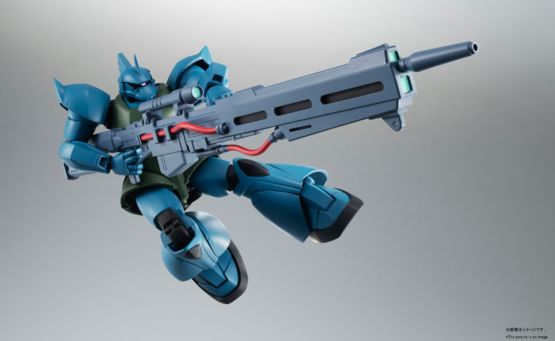 ROBOT魂〈SIDE MS〉『MS-14A ガトー専用ゲルググ ver. A.N.I.M.E.』可動フィギュア-003