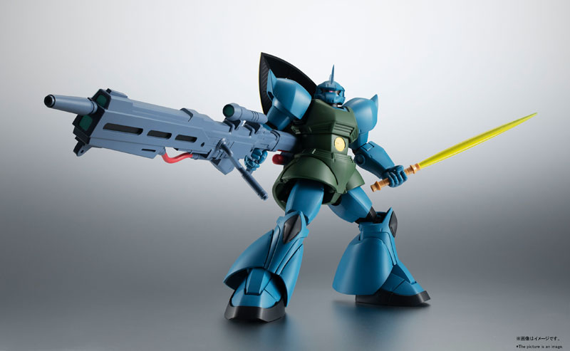 ROBOT魂〈SIDE MS〉『MS-14A ガトー専用ゲルググ ver. A.N.I.M.E.』可動フィギュア-004