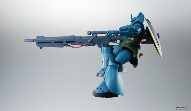 ROBOT魂〈SIDE MS〉『MS-14A ガトー専用ゲルググ ver. A.N.I.M.E.』可動フィギュア-007