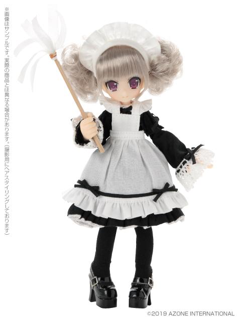Lil'Fairy ~ちいさな ちいさなお手伝いさん~『もじゃヴェル』1/12 完成品ドール-004