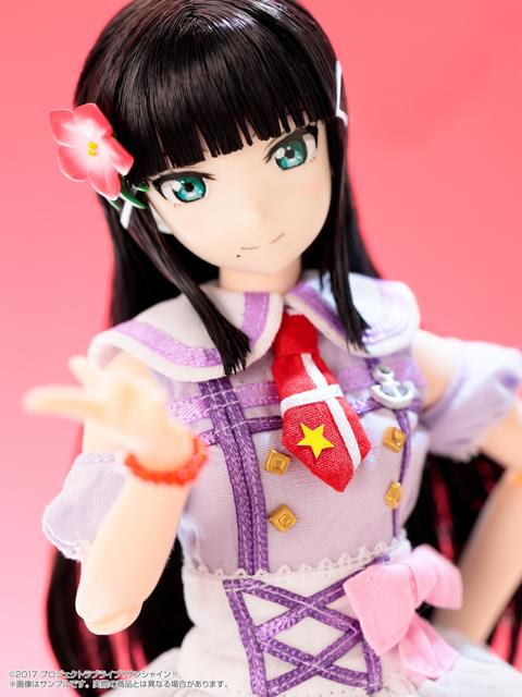 ピュアニーモ キャラクターシリーズ No.118『黒澤ダイヤ』ラブライブ!サンシャイン!! 1/6 完成品ドール-007