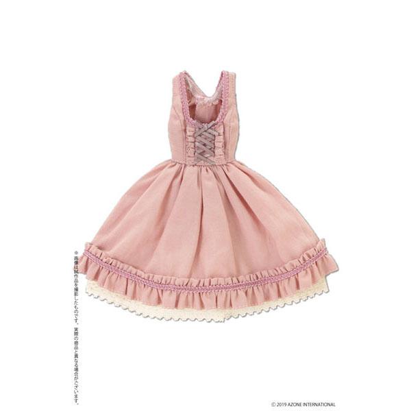 ピュアニーモ用 PNM『ノーブルジャンパースカート スモーキーピンク』1/6 ドール服