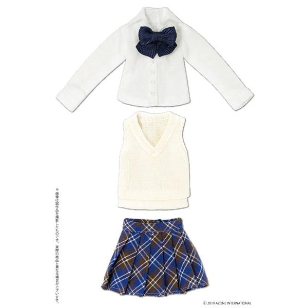 ピコニーモサイズ コスチューム『アフタースクールセット(クリーム×ネイビー)』1/12 ドール服