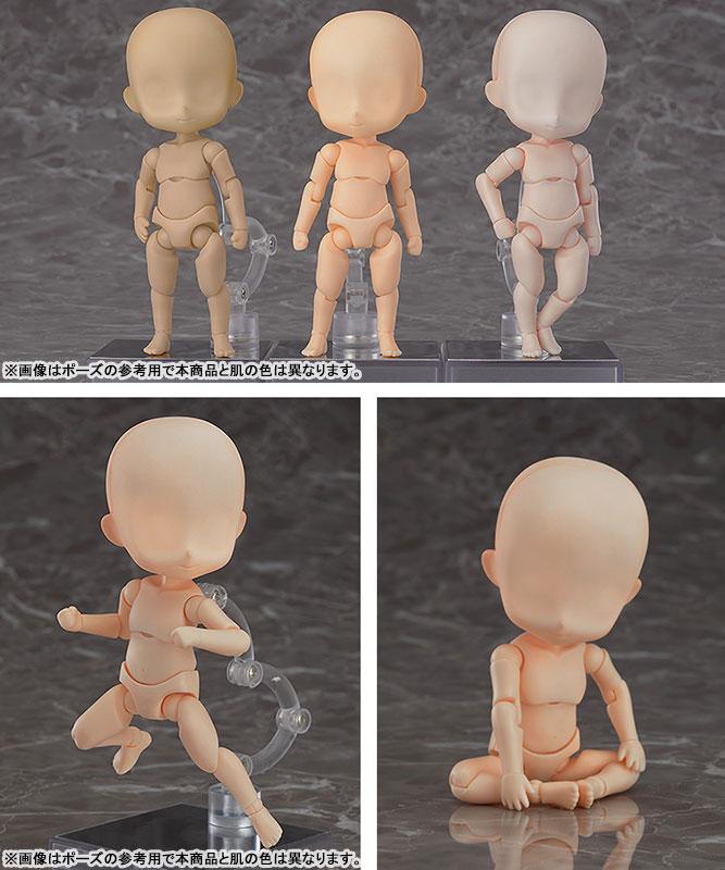 ねんどろいどどーる『archetype:Boy(almond milk)/アーキタイプ 男の子(アーモンドミルク)』ドール素体-002