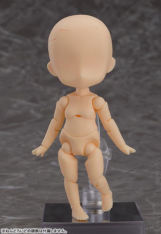 ねんどろいどどーる『archetype:Girl(almond milk)/アーキタイプ 女の子(アーモンドミルク)』ドール素体-001