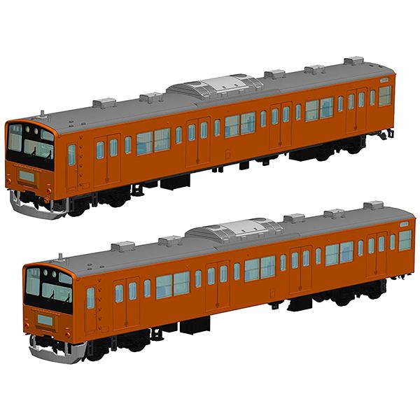 1/80『JR東日本201系直流電車(中央線)クハ201・クハ200』プラモデル