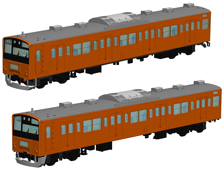 1/80『JR東日本201系直流電車(中央線)クハ201・クハ200』プラモデル-001