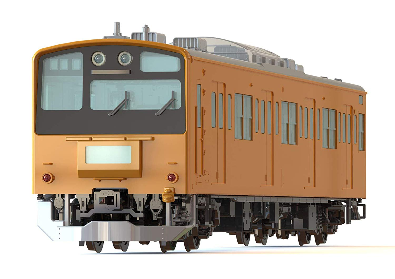 1/80『JR東日本201系直流電車(中央線)クハ201・クハ200』プラモデル-002