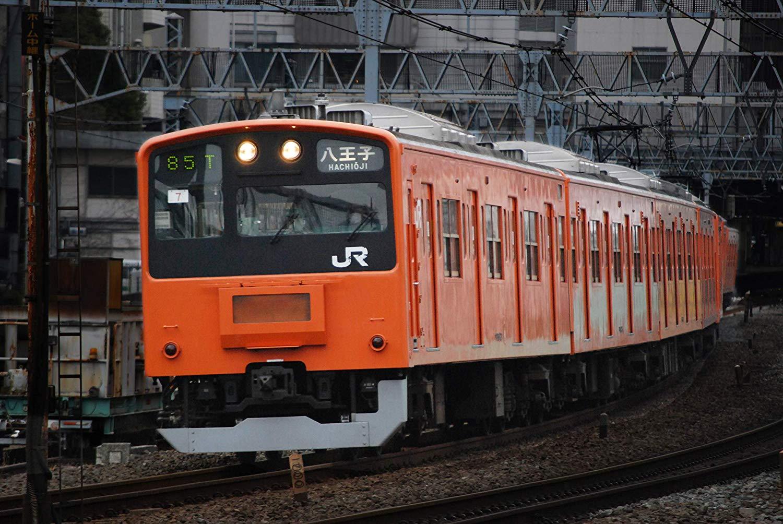 1/80『JR東日本201系直流電車(中央線)クハ201・クハ200』プラモデル-009