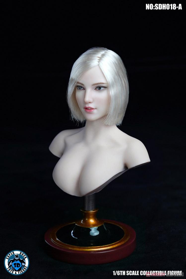 『女性ヘッド 018 A』1/6 ドール素体ヘッド-002