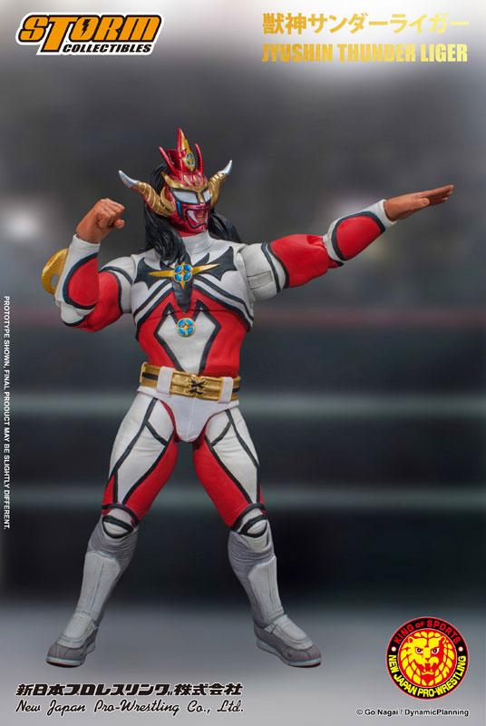 【再販】新日本プロレス『獣神サンダー・ライガー』 アクションフィギュア-001