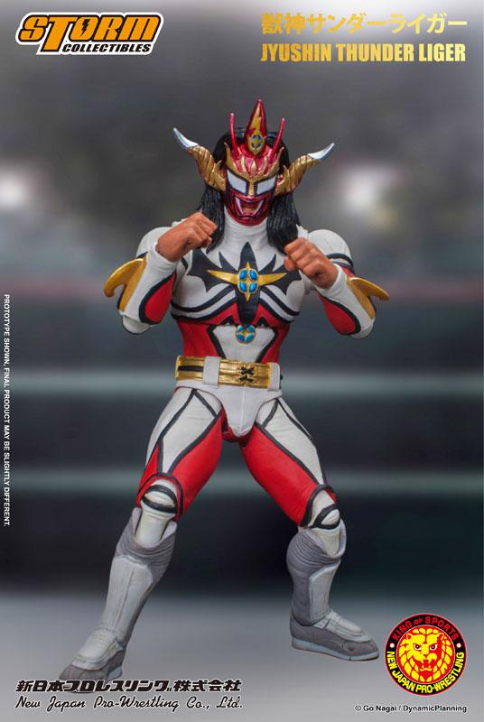 新日本プロレス『獣神サンダー・ライガー』 アクションフィギュア-003