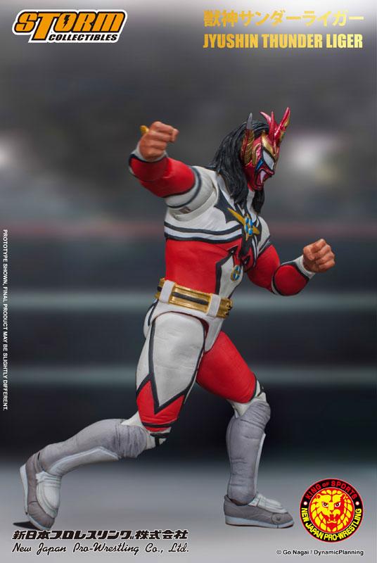 新日本プロレス『獣神サンダー・ライガー』 アクションフィギュア-007